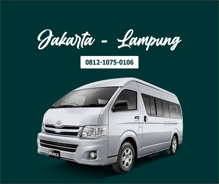 1. Travel Jakarta Lampung, Door to Door Travel Agency di Jakarta