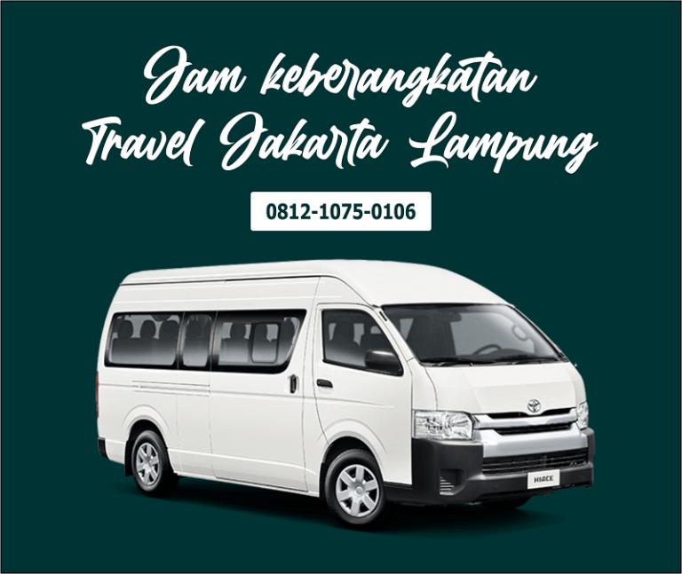 3. Jam keberangkatan Travel Jakarta Lampung, Bisa Jemput dari Rumah