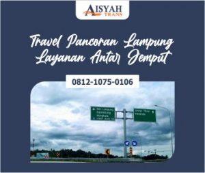 Travel Pancoran Lampung Layanan Antar Jemput di Tempat